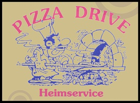 Lieferservice Pizza Drive in Hemsbach