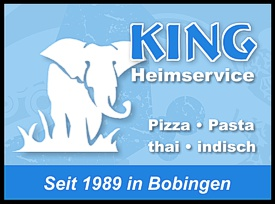 King Pizza-Heimservice in Bobingen