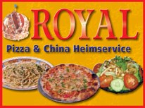 Lieferservice Royal Pizza- und China-Heimservice in Kornwestheim